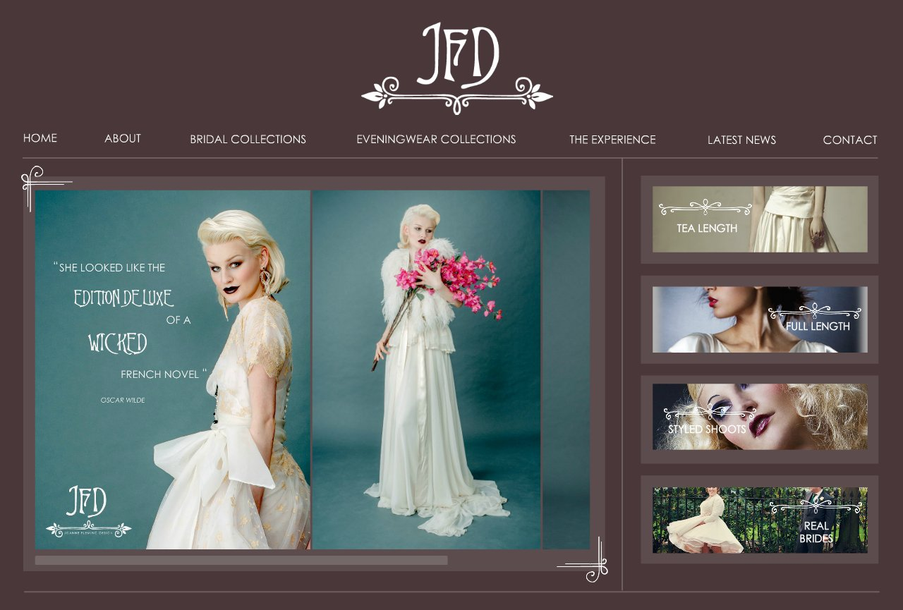 Joanne Fleming Bespoke & Made to Order Wedding Dresses | UK