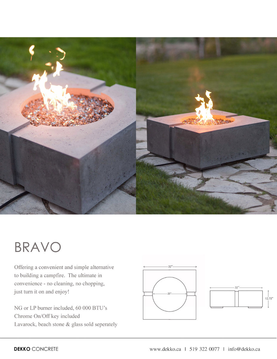 Firepits And Fire Tables Ottawa