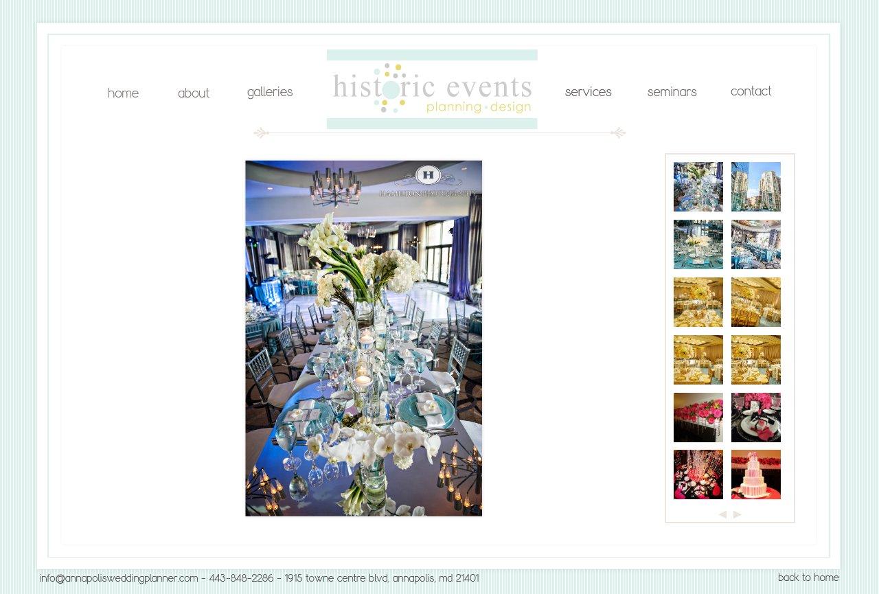 Annapolis Wedding Planner - Gallery