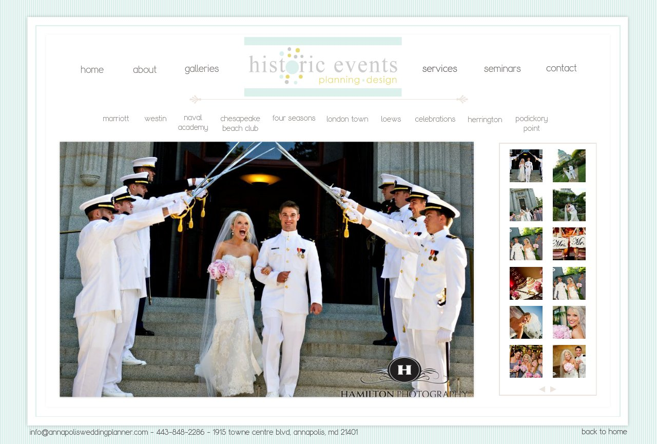 Naval Academy Chapel Annapolis Wedding