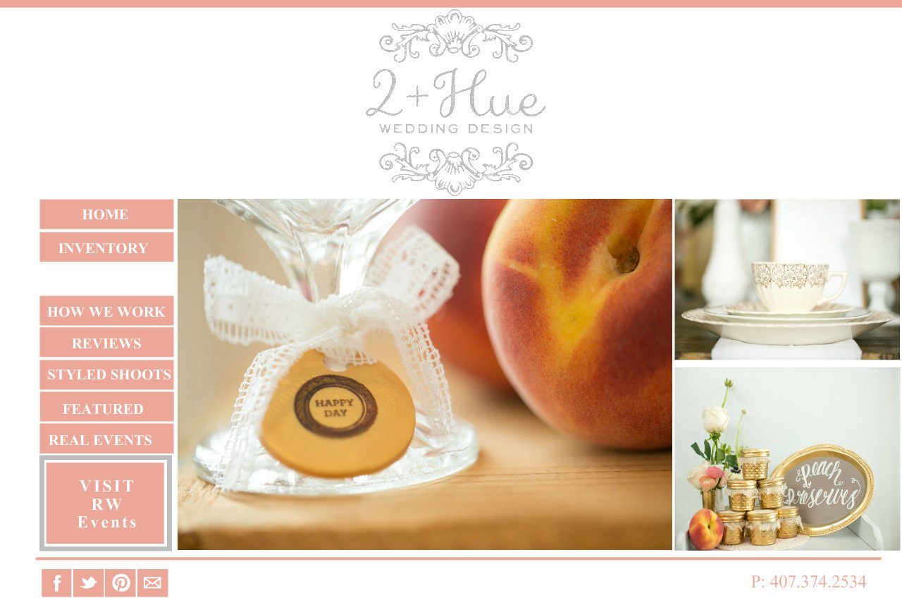 Home page- Weddings by 2+Hue , Vintage furniture rental and styling -Orlando, Florida
