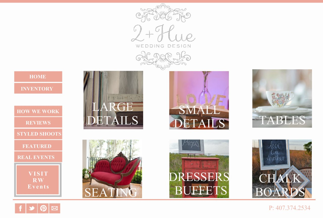 Inventory- Weddings by 2+Hue , Vintage furniture rental and styling -Orlando, Florida