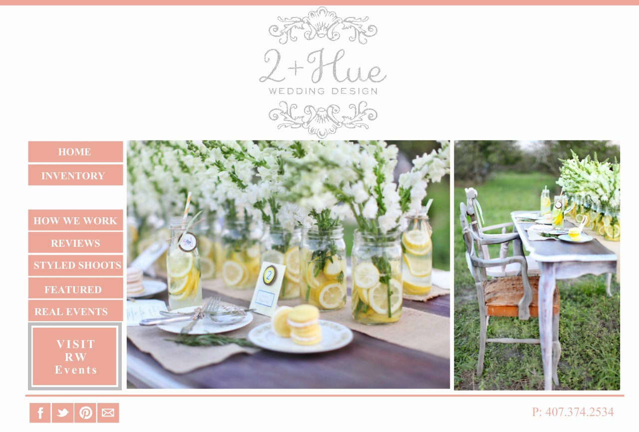 PORTFOLIO-  Weddings by 2+Hue , Vintage furniture rental and styling -Orlando, Florida