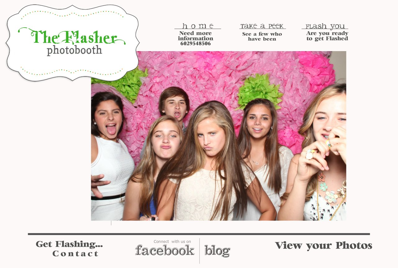 The Flasher Photobooth Home