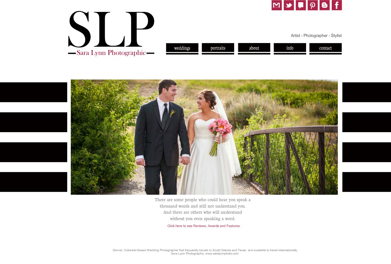 SLP Home - Denver based wedding and Boudoir Photographer