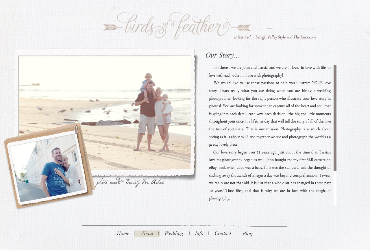 About Birds of a Feather Photography Lehigh Valley Wedding Photographer