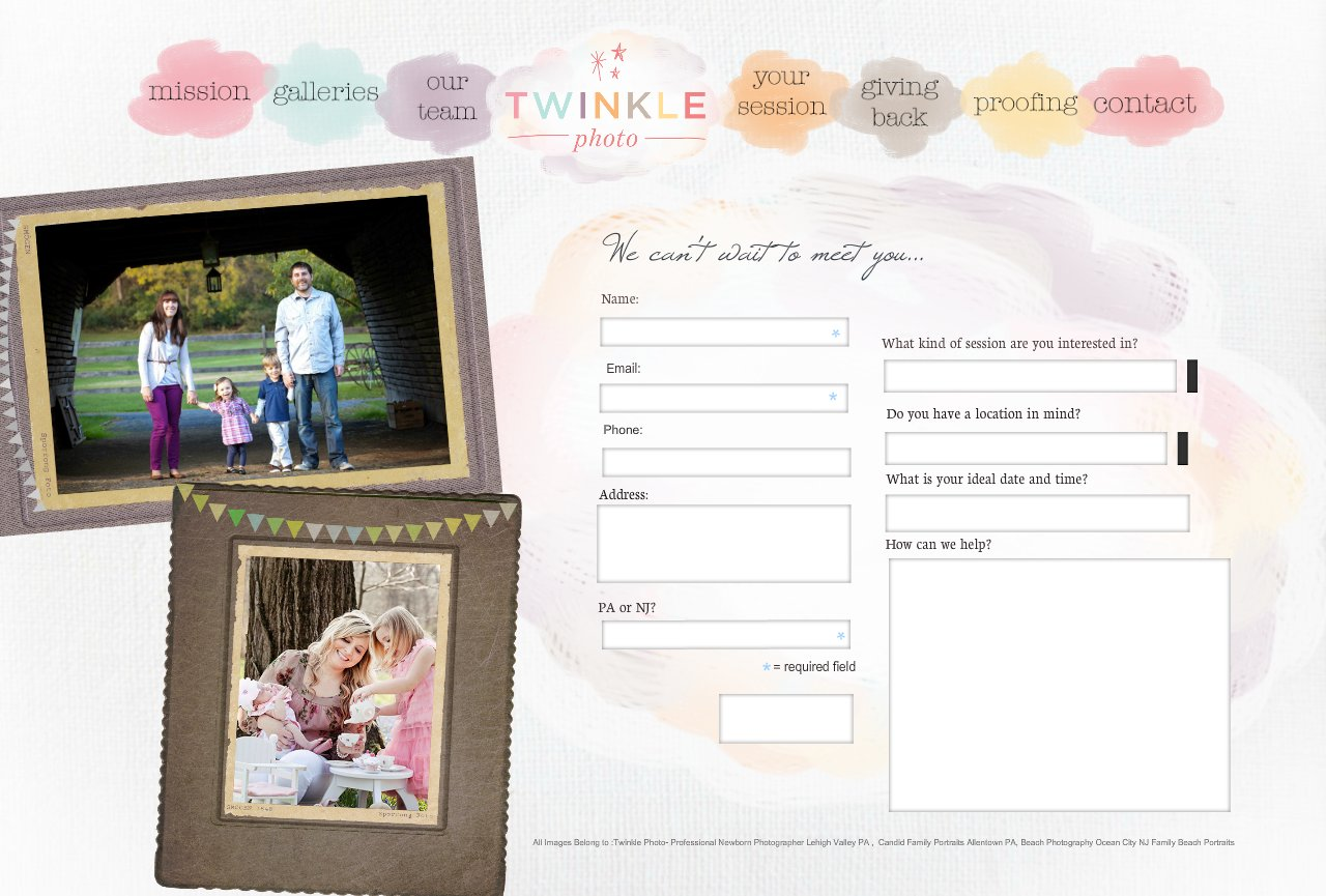 Contact Twinkle Photo Lehigh Valley Newborn Photographer