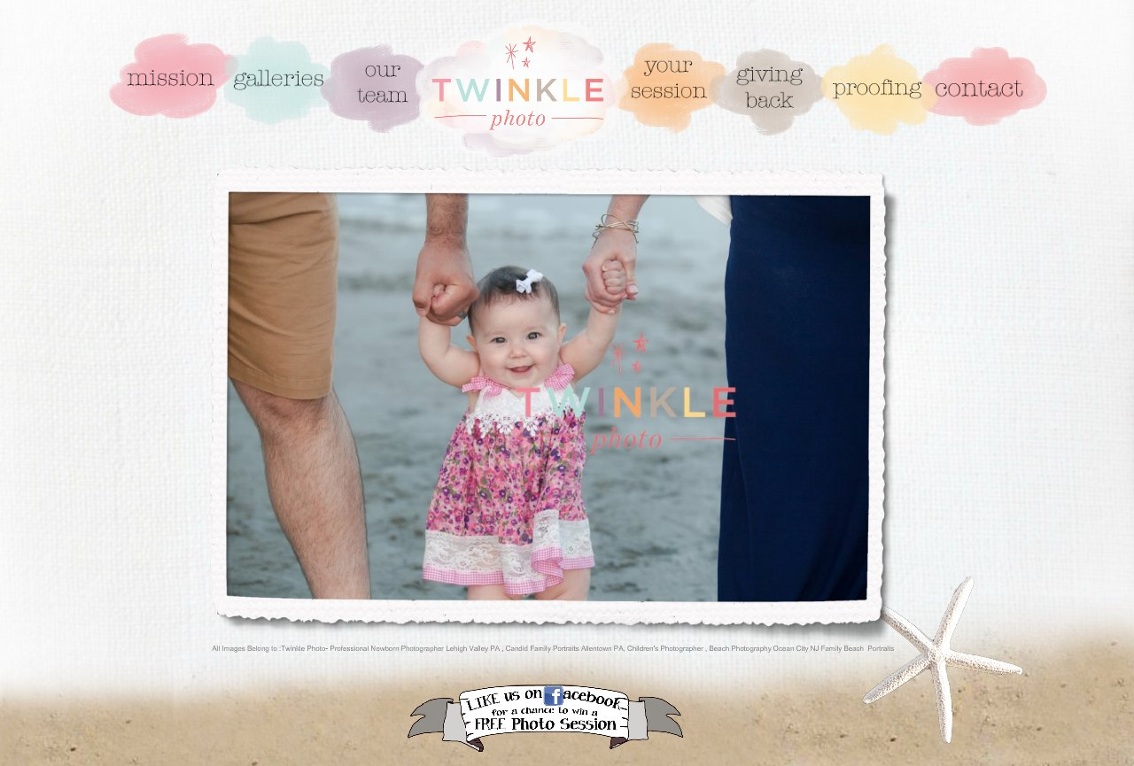 Twinkle Photo @ the Beach Ocean City NJ Family Beach Portraits