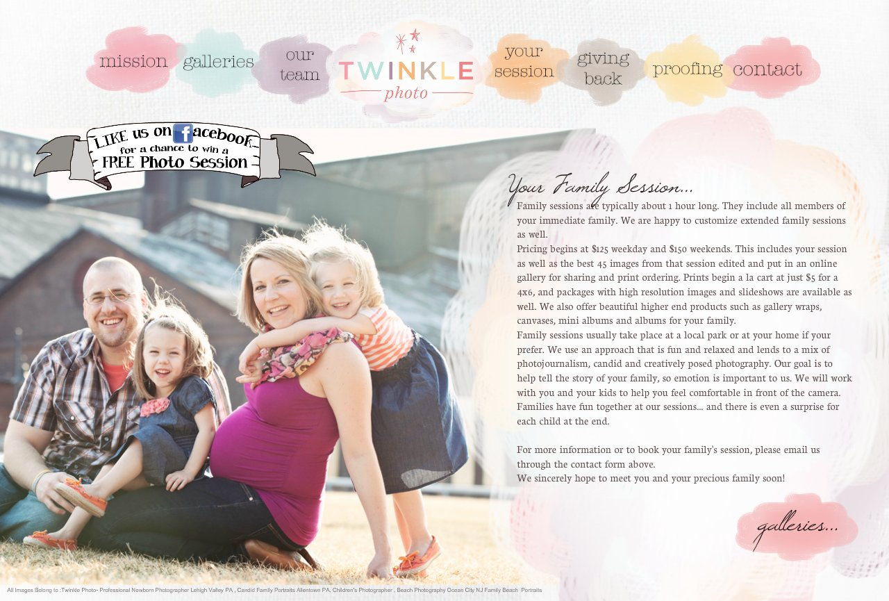 Twinkle Photo Family Session Lehigh Valley Family Photography