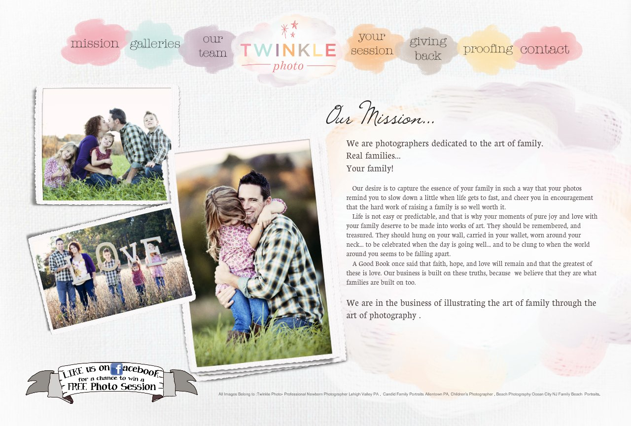 Twinkle Photo Mission Lehigh Valley Family Photographer