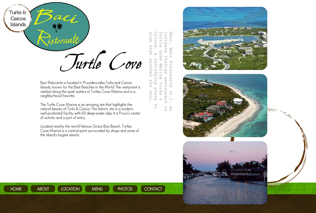 Location in Turtle Cove Turks & Caicos
