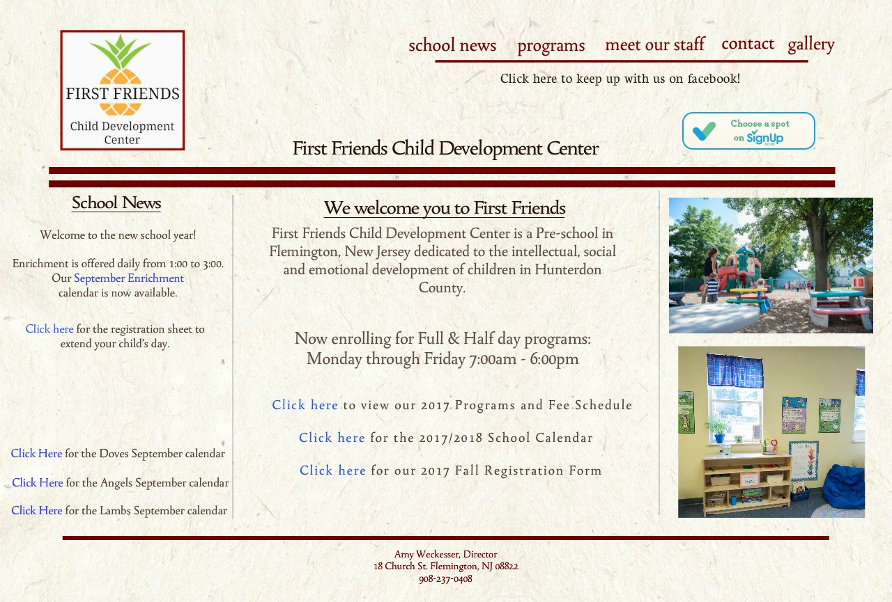 Preschool | Nursery School | Flemington NJ