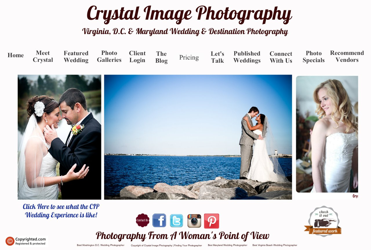 Richmond Virginia & Destination Wedding Photographer - Crystal Image Photography - Home