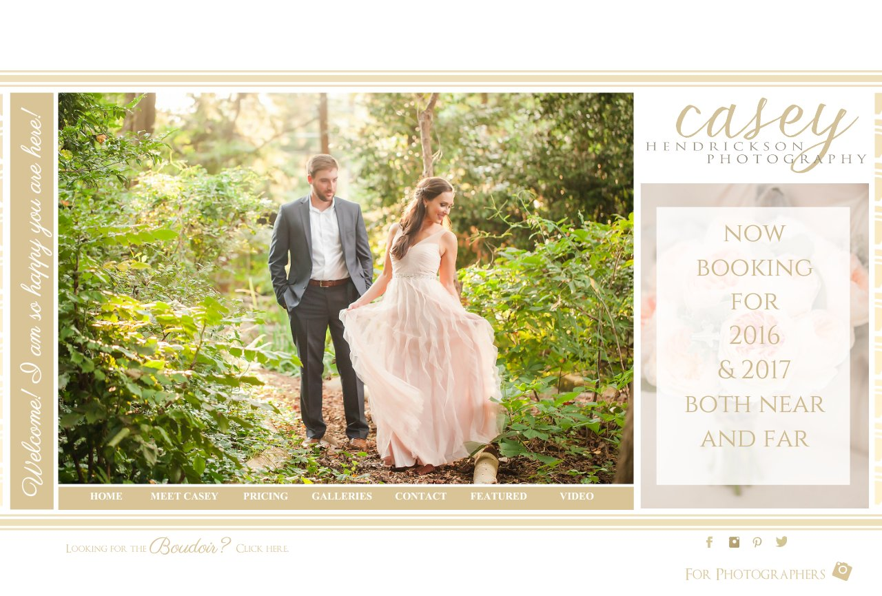 Welcome | Charlotte & Alexandria Wedding & Boudoir Photography