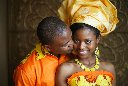 Traditional Ghanian Wedding Photos