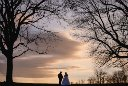Maryland Vineyard Wedding Sunset Photo