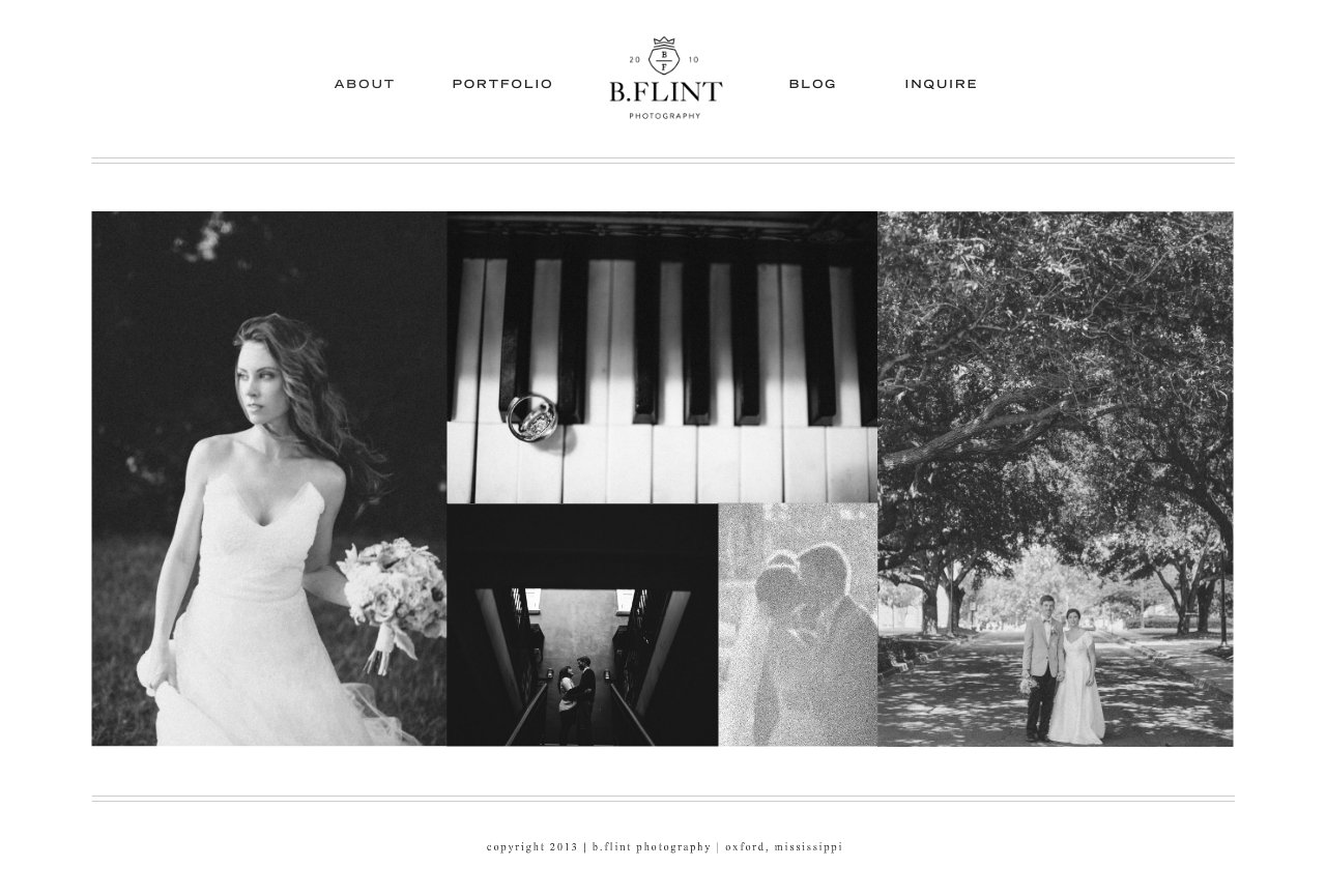 b. flint photography | mississippi wedding photographer | home