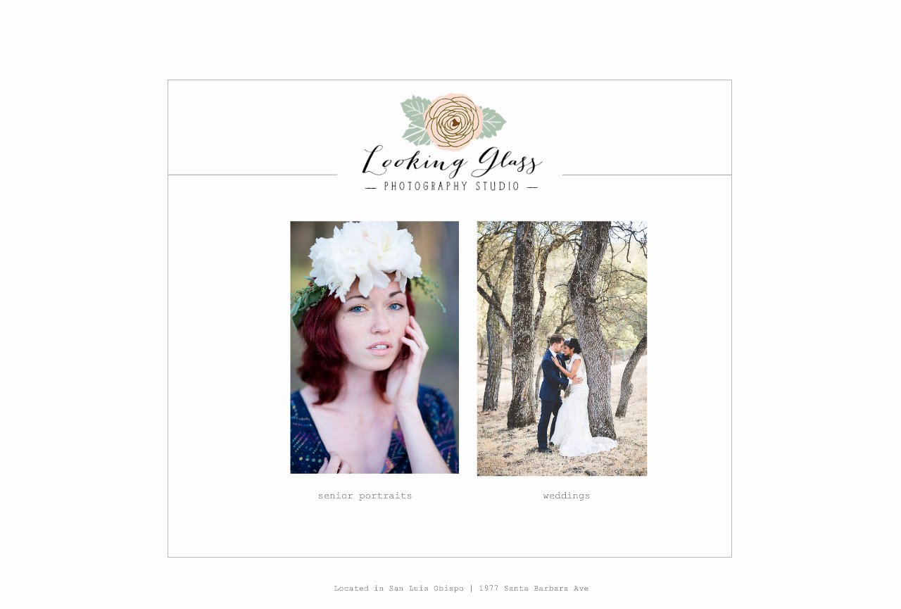 San Luis Obispo Photography Studio | Looking Glass Photography