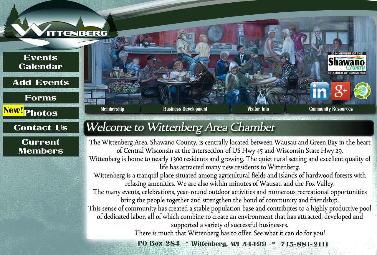 Welcome to Wittenberg Area Chamber of Commerce