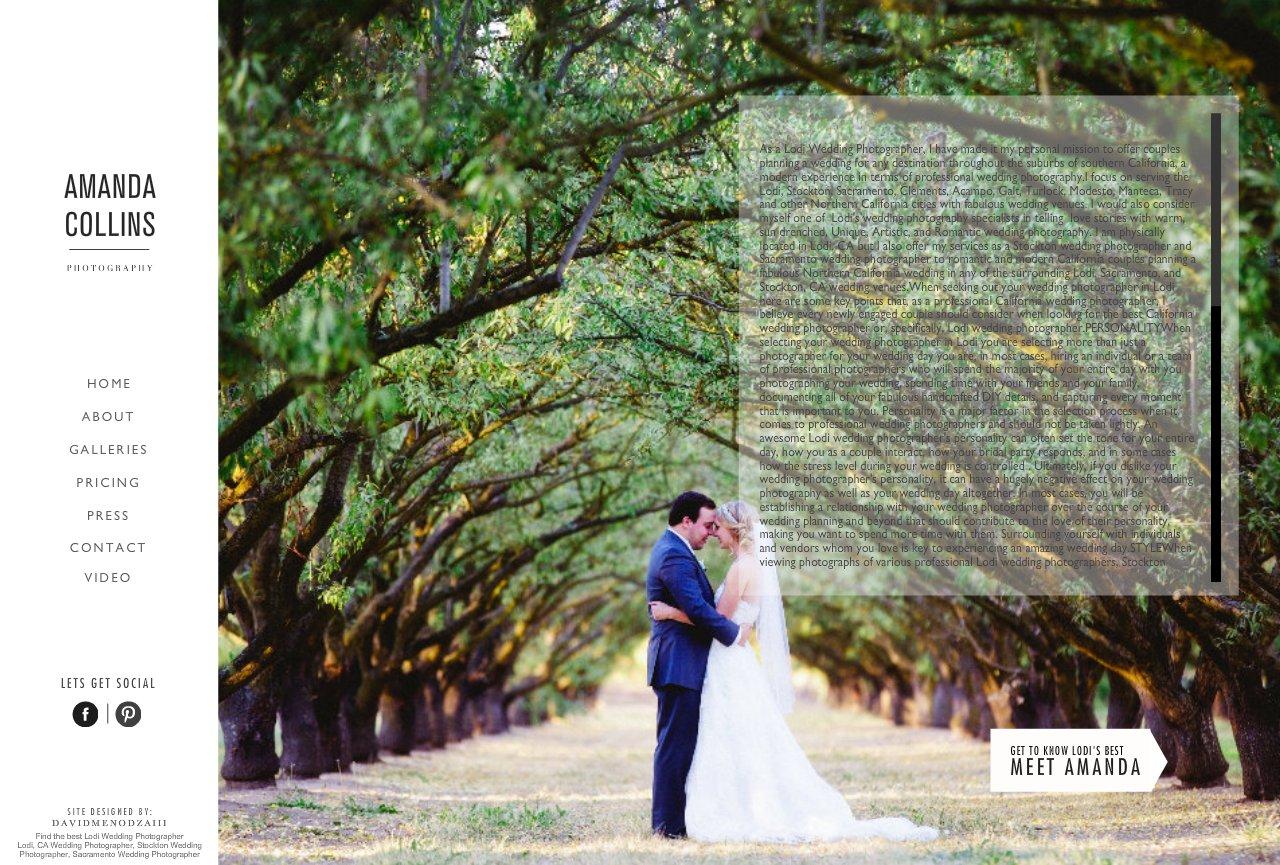 Amanda Collins Photography Lodi Stockton And Sacramento Wedding Photographer Find The Best
