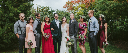 Garfield Park Conservatory Wedding Portraits