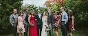 Garfield Park Conservatory Wedding Portraits
