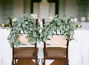 Bride  & Groom Chair Decor