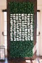 Boxwood Wall for Escort Cards