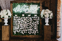 Morgan Manufacturing Wedding Escort Card Arrangement