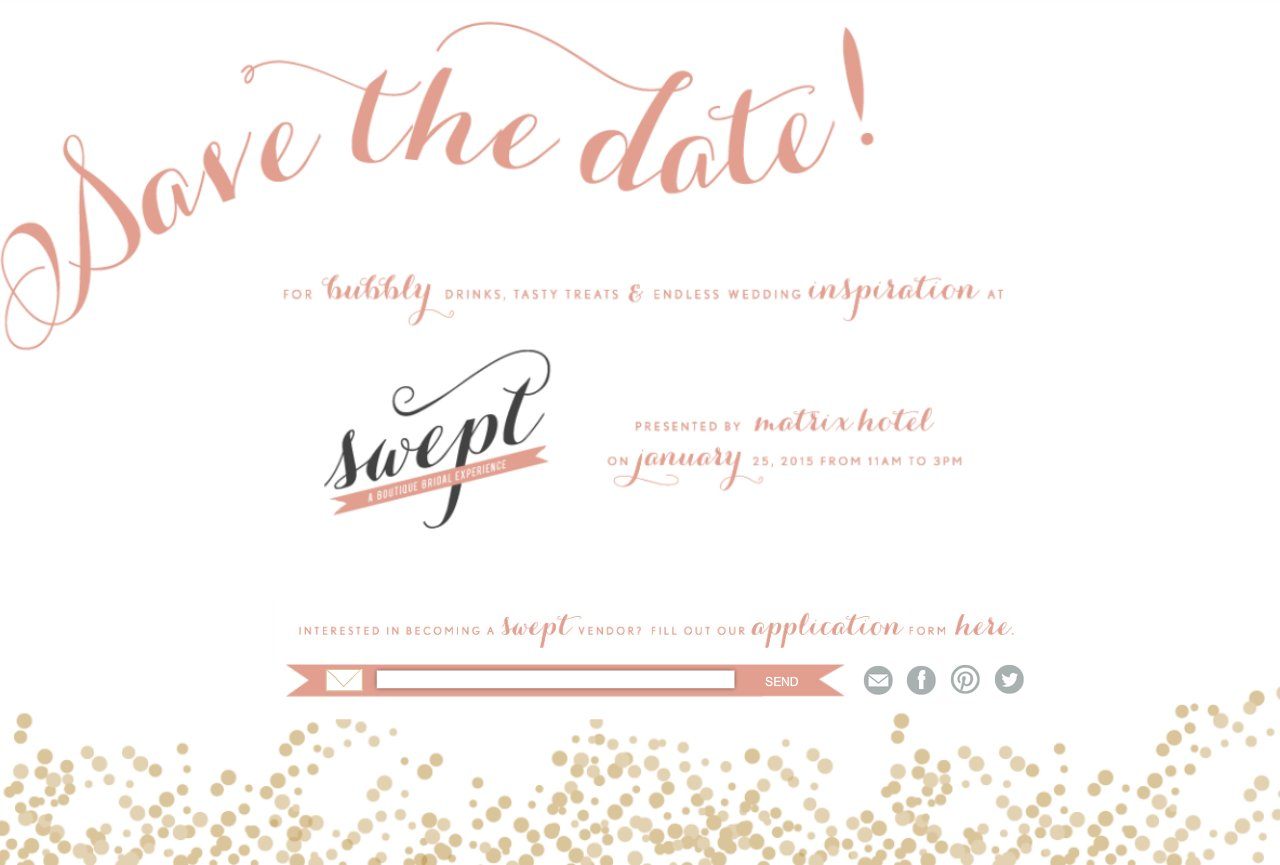 save the date for swept 2015