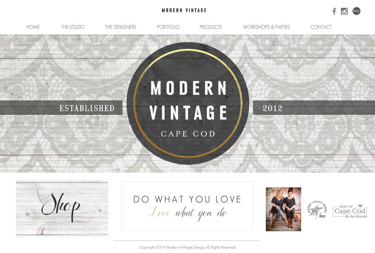 Modern Vintage Design Studio Home