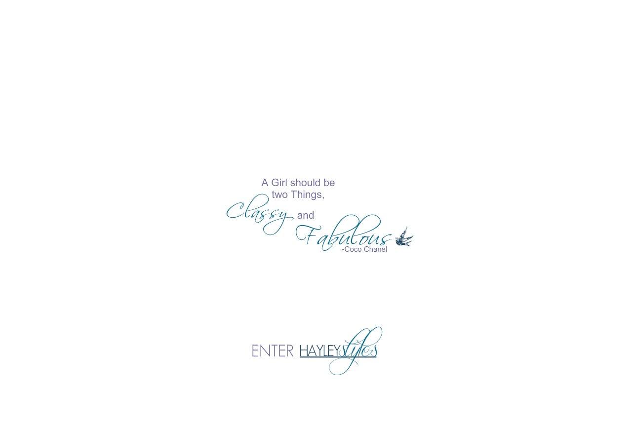 Enter HayleyStyles