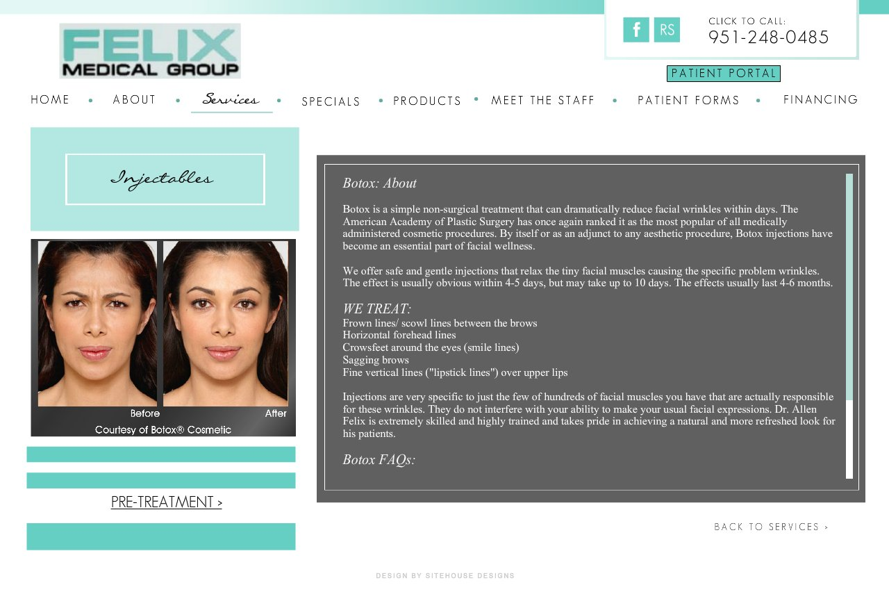 Felix Medical Group - Injectables