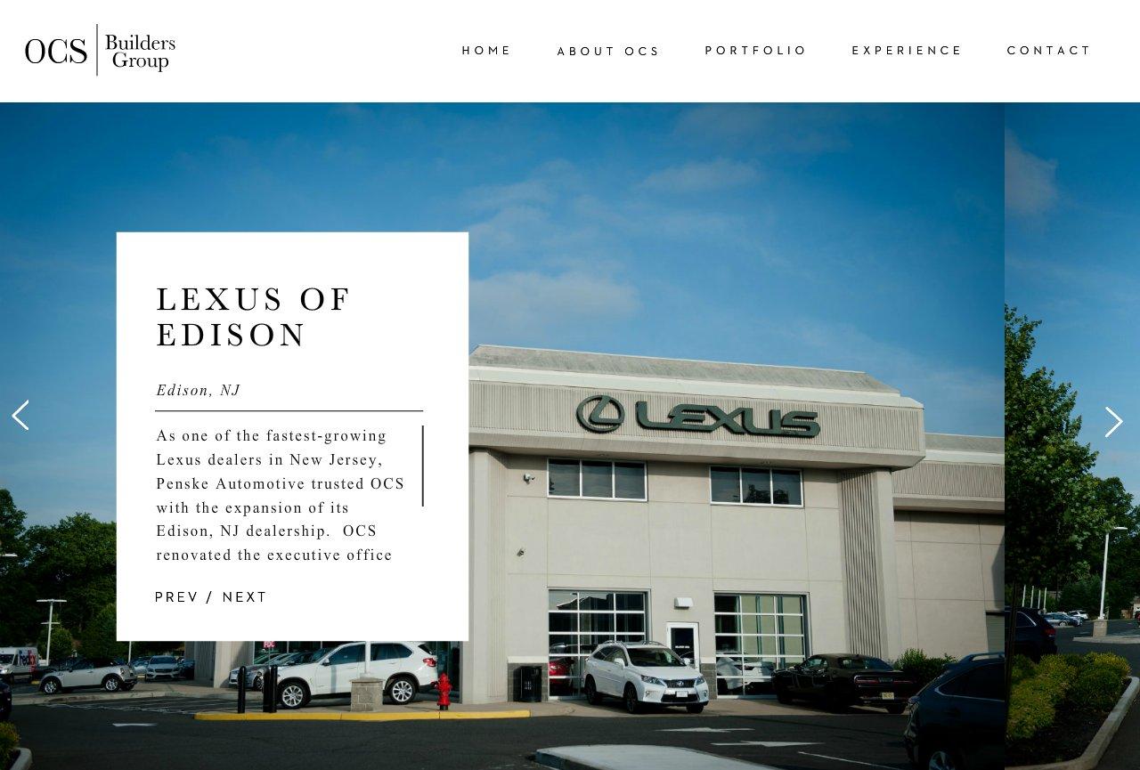 Ocs Builders Group Llc Lexus Of Edison