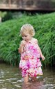 Outdoor Child Photo in River