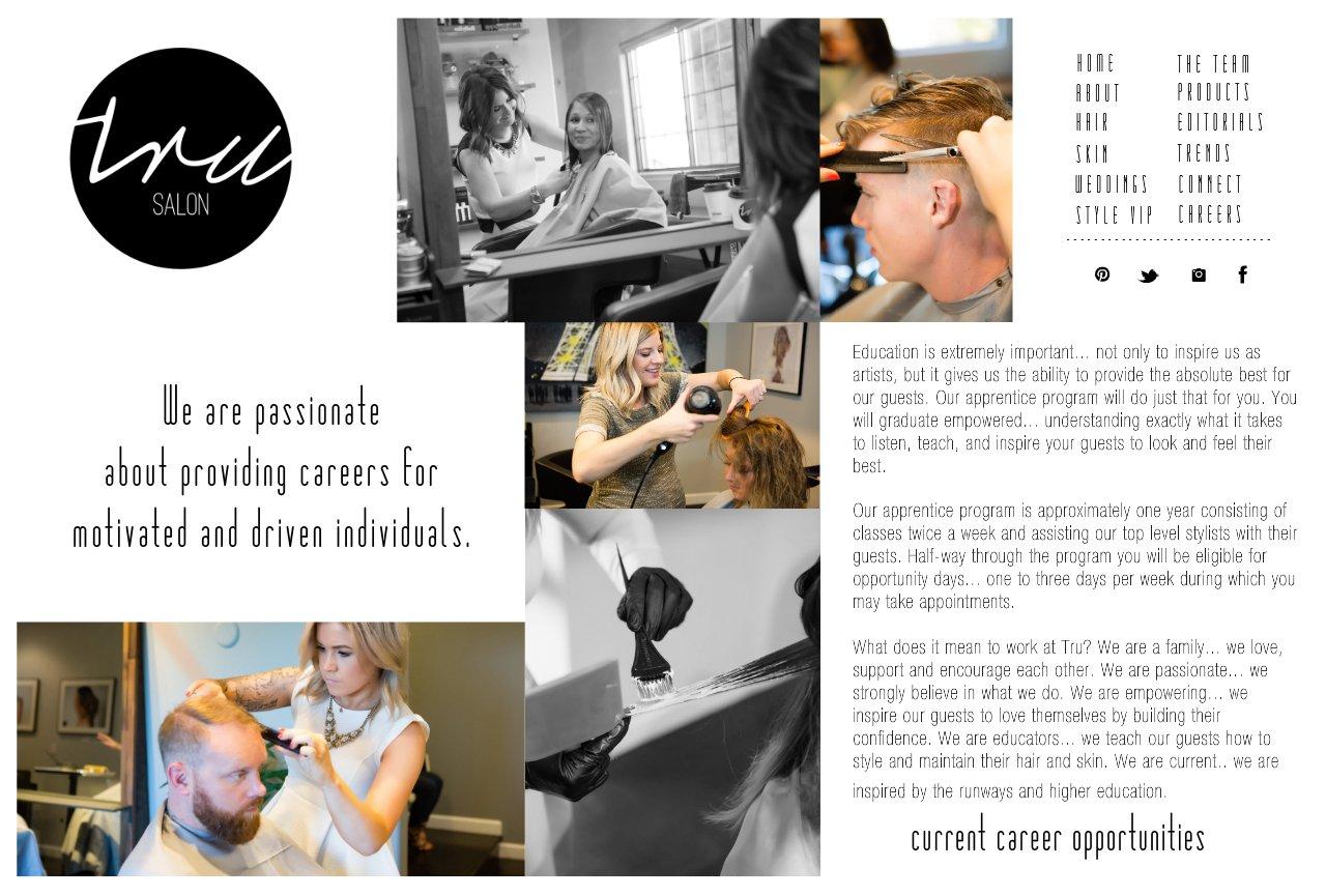 tru salon careers