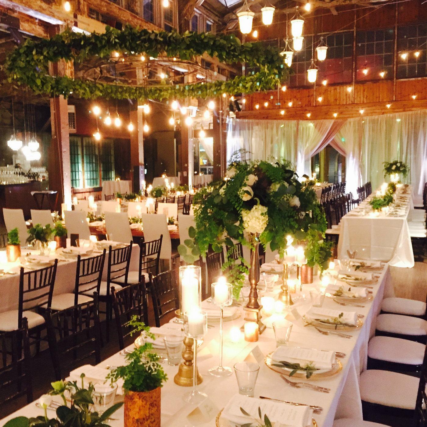 Fl Design For Sodo Park Seattle Wedding By Flora Nova And Event