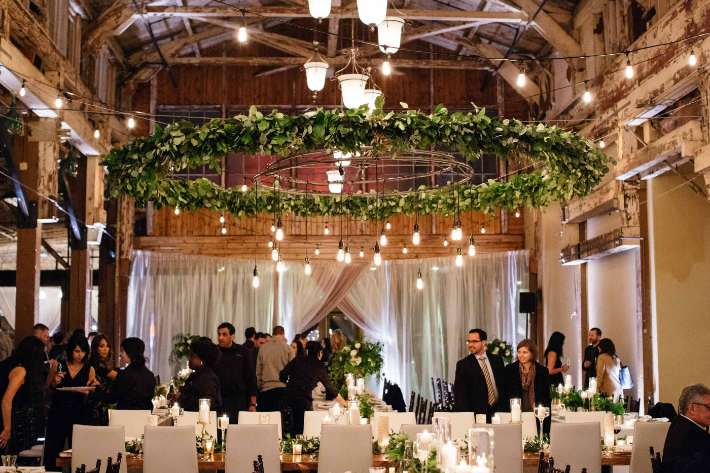 Fl Design For Sodo Park Seattle Wedding By Flora Nova And Event