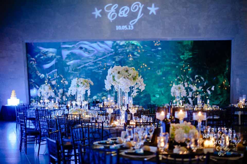 Fl Design For Seattle Aquarium Wedding By Flora Nova And Event