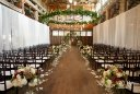 Wedding floral design Sodo Park Seattle