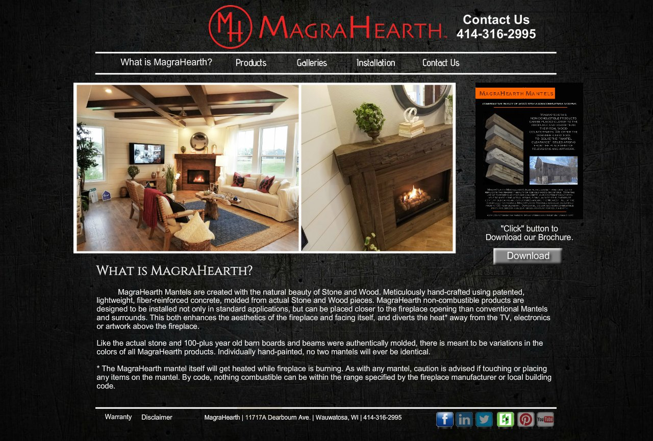 Magrahearth Non Combustible Fireplace Mantels Wood Stone Replica What Is