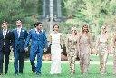 villa terrace wedding photography